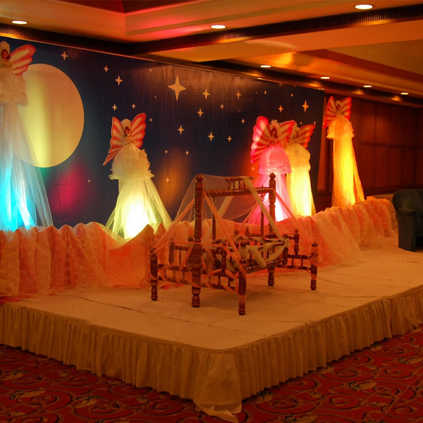 Cradle Ceremony Decorations in Hyderabad