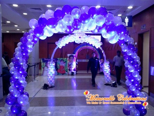 Organising birthday party organising birthday birthday for Balloon decoration in hyderabad