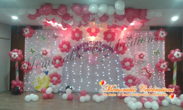 Birthday party decorations kids birthday party for Balloon decoration in bangalore