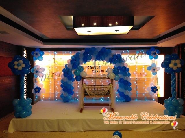 Birthday Party, Cradle & Saree Ceremony Decorations in Hyderabad (20)