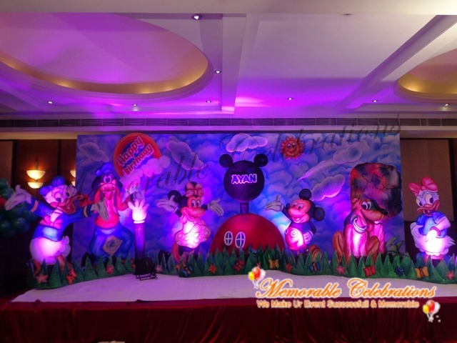 Birthday Party, Cradle & Saree Ceremony Decorations in Hyderabad (22)