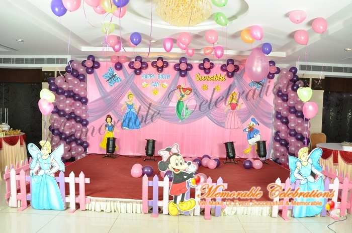Birthday Party, Cradle & Saree Ceremony Decorations in Hyderabad (7)